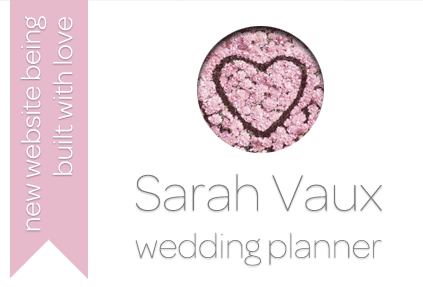 Sarah Vaux Wedding Planner